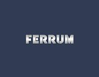 The logo of FERRUM