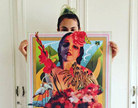 Poster Morenita / Sotomayor