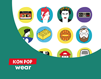 Brand Identity | Icon Pop Wear