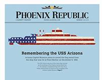 Tabloid Mockup - Phoenix Republic