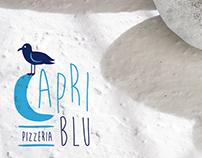 Pizzeria Capri Blu / menu