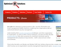 Optimized E Solutions Web design
