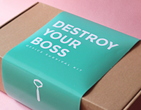 DESTROY YOUR BOSS - OFFICE SURVIVAL KIT