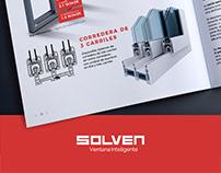 Maquetación Catálogo Solven