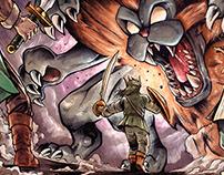 Dragon Quest IV Illustrations