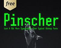 SH Pinscher Free Bitmap Font