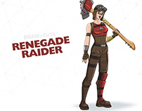 How to draw Renegade Raider | Step-by-step guide