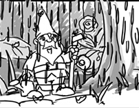 360° Immersive Storyboard The Garden Gnome