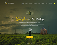 LightBook - Church PSD Template
