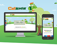 Web Design For Call Monster