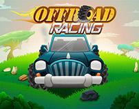 Off Road Racing Game UI Design