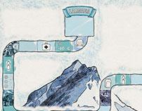 Marathons - playful illustrations