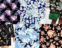 Print Designs for various clients - Fashion Design