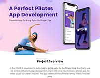 UX/UI Design of the Pilates App Like Fiton
