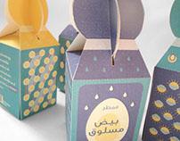 Fickle Bright: Breakfast Packaging