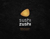 SushiZushi - Premium Restaurant Rebranding & Website