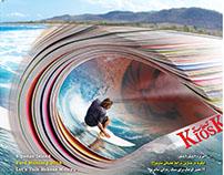 Kiosk magazine Cover Design