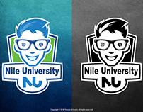 Mascot Logo for an University