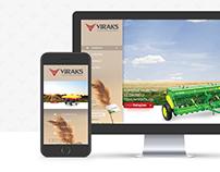 Viraks Responsive Web Site