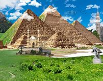 Pyramids new look