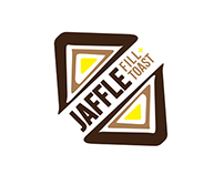 Branding and media for Jaffle Fill and Toast