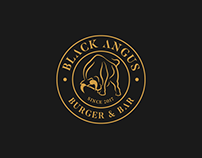 BLACK ANGUS BURGER & BAR - Logo & Branding