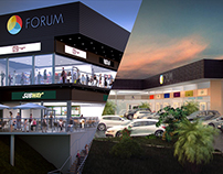 3D Mall Visualisation