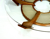 HERA - round coffee table