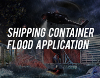 Shipping Container - Flood Application