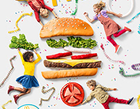 Mc Donalds Burger Birthday Party