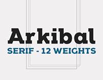 Arkibal Serif - Typeface
