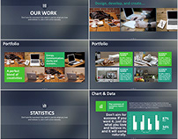 24+ company report PowerPoint template