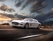 "MERCEDES SLS AMG | ""HOME"" (CGI) PART 2 OF 5"