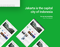 Showing Jakarta to The World