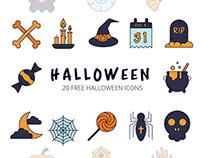 Halloween Vector Free Icon Set