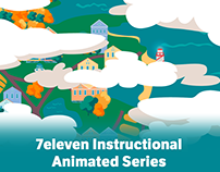 7eleven Instructional Animated Series