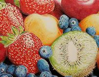 Color Studies - Fruits