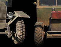 3D | Game models of trucks.