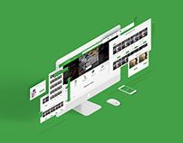 Parrot - E-commerce Website Template Design