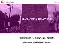 Mishacreatrix - Website - 2017