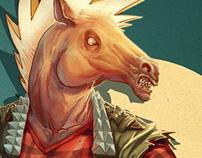 Punk Horseman
