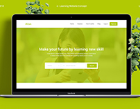 Altus e Learning Website Concept