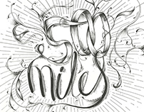 Hand Lettering - Music Series