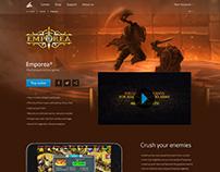 Emporea landing page