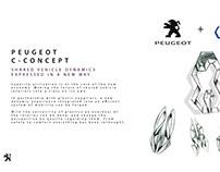 Peugeot concept C