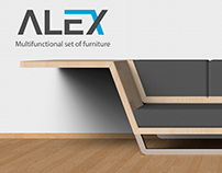 Alex - Multifunctional set of furniture