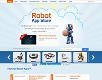 Web Design for robotsappstore.com