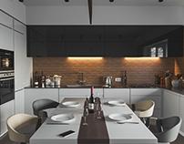Grеy kitchen