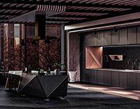 Interior Design Concept - Darqué