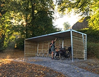 The Wave cycle shelter